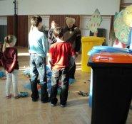 Balyna s dětmi