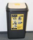 Nádoba na tříděný odpad 50l plastová grafitová