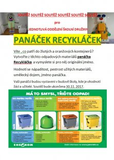Panáček Recykláček